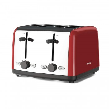 Kenwood TTM480RD 4 Slice Red Toaster