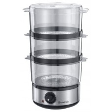 Russell Hobbs 14453 Compact Brushed Stainless Steel Food Steamer