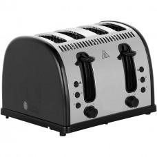 Russell Hobbs 21303 Legacy 4-Slice Black Toaster